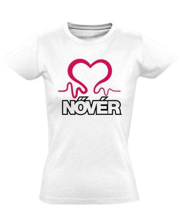 Nővérláv nővér póló (fehér)
