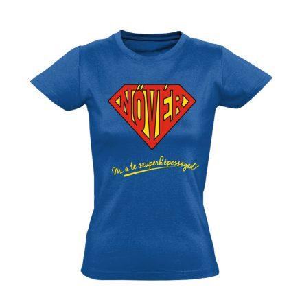 SuperNővér nővér póló (kék)