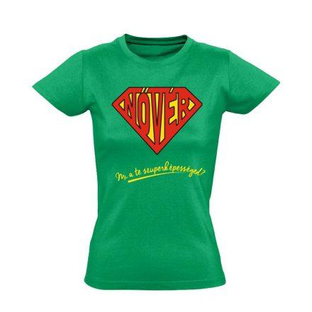 SuperNővér nővér póló (zöld)