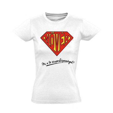 SuperNővér nővér póló (fehér)
