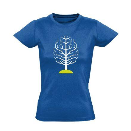 FAGY neurológiai női póló (kék)