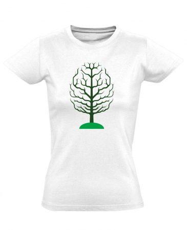 FAGY neurológiai női póló (fehér)