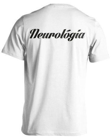 Neurológiai férfi póló (fehér)