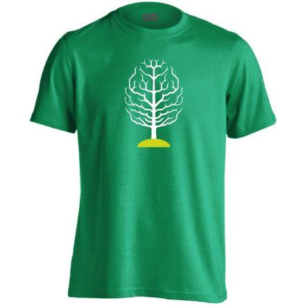 FAGY neurológiai férfi póló (zöld)