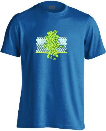 Sejtfelesleg onkológiai férfi póló (kék)