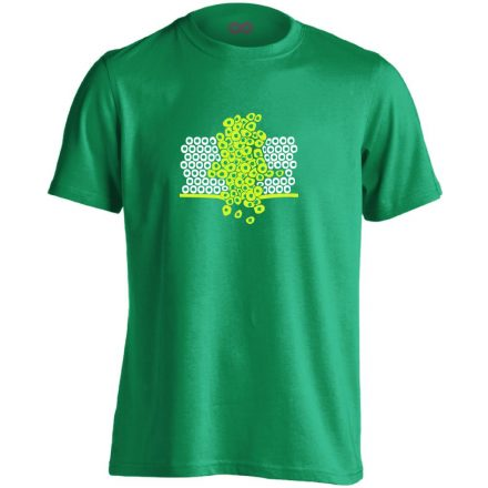 Sejtfelesleg onkológiai férfi póló (zöld)