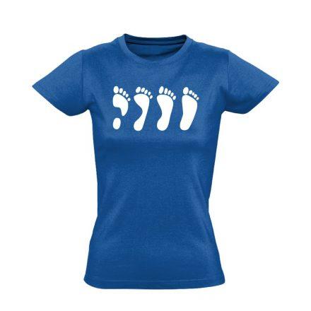MártonLáb ortopédiai női póló (kék)