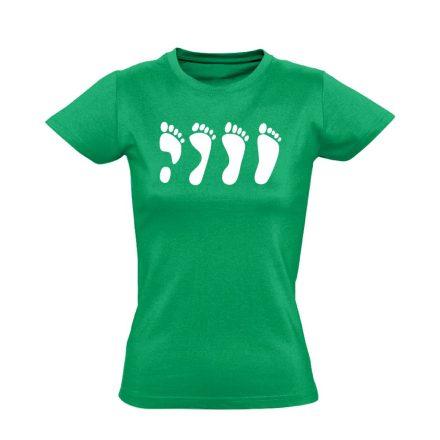 MártonLáb ortopédiai női póló (zöld)