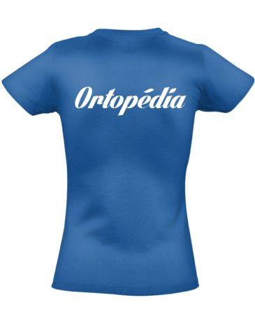 Ortopédia női póló (kék)