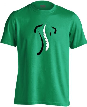 S-Modell ortopédiai férfi póló (zöld)