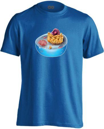 SEJTettem patológiai férfi póló (kék)