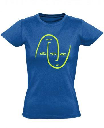 Én és Én pszichiátriai női póló (kék)
