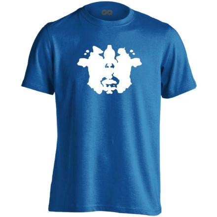 TintaPaca pszichiátriai férfi póló (kék)