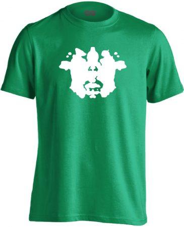 TintaPaca pszichiátriai férfi póló (zöld)