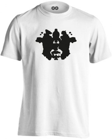 TintaPaca pszichiátriai férfi póló (fehér)