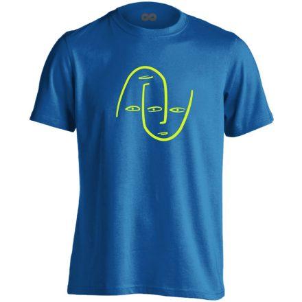 Én és Én pszichiátriai férfi póló (kék)