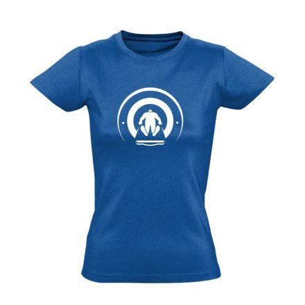 Mágnesfánk radiológiai női póló (kék)