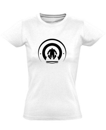 Mágnesfánk radiológiai női póló (fehér)