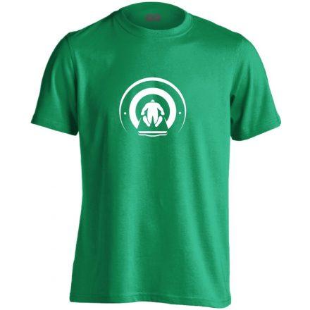 Mágnesfánk radiológiai férfi póló (zöld)