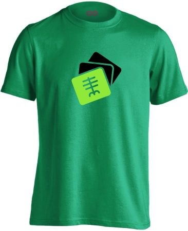 Szekvenciák radiológiai férfi póló (zöld)