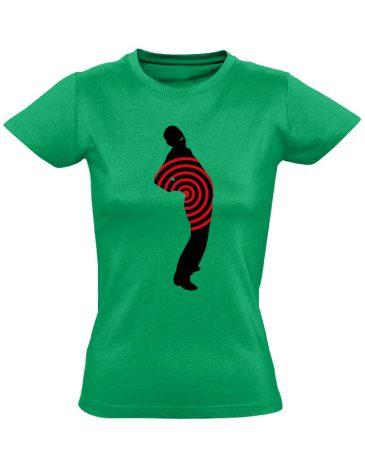 Fáj? Hát! reumatológiai női póló (zöld)