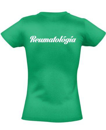 Reumatológia női póló (zöld)