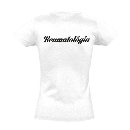 Reumatológia női póló (fehér)