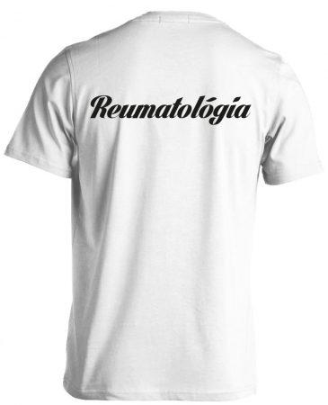 Reumatológia férfi póló (fehér)