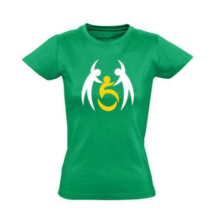SegítŐk rehabilitációs női póló (zöld)
