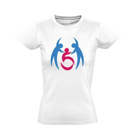 SegítŐk rehabilitációs női póló (fehér)