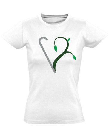 Megújulás rehabilitációs női póló (fehér)