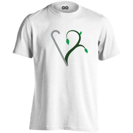 Megújulás rehabilitációs férfi póló (fehér)