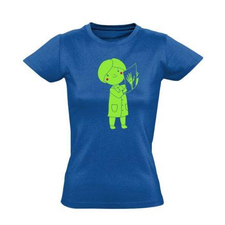 Bertha röntgenes női póló (kék)