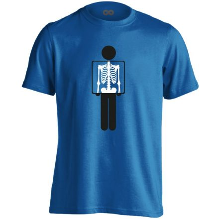 Belém látsz röntgenes férfi póló (kék)