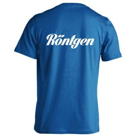 Röntgen férfi póló (kék)