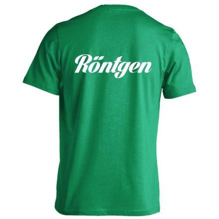 Röntgen férfi póló (zöld)