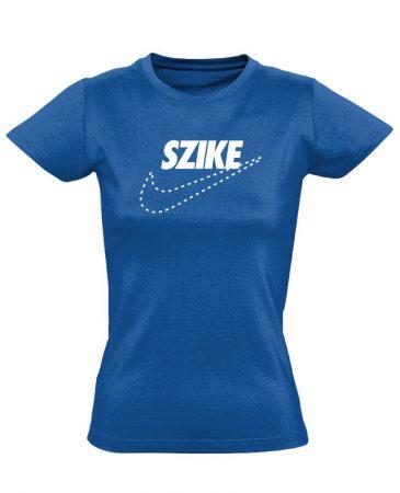 SZIKE sebészeti női póló (kék)