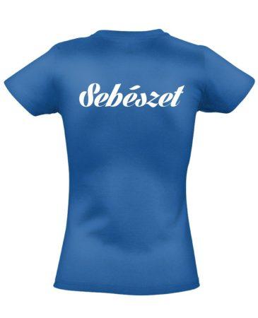Sebészeti női póló (kék)