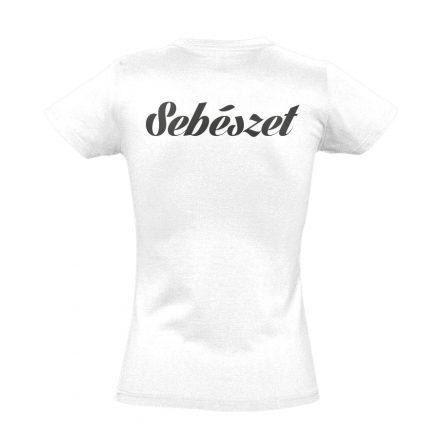 Sebészeti női póló (fehér)