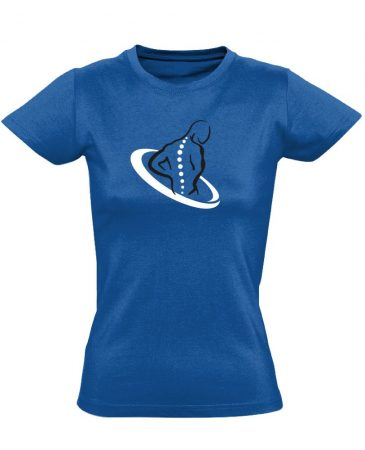 TestÚjító gyógytornász női póló (kék)