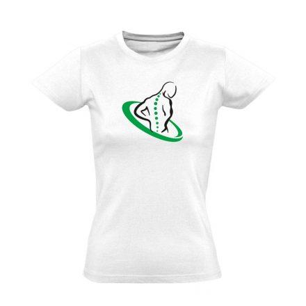 TestÚjító gyógytornász női póló (fehér)