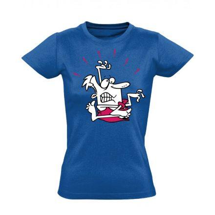 Gubanc gyógytornász női póló (kék)