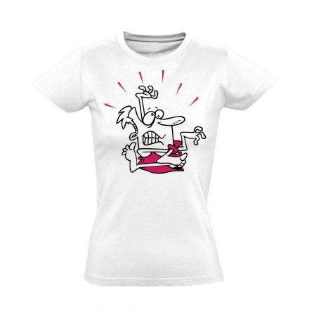 Gubanc gyógytornász női póló (fehér)