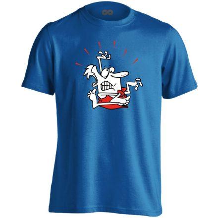 Gubanc gyógytornász férfi póló (kék)