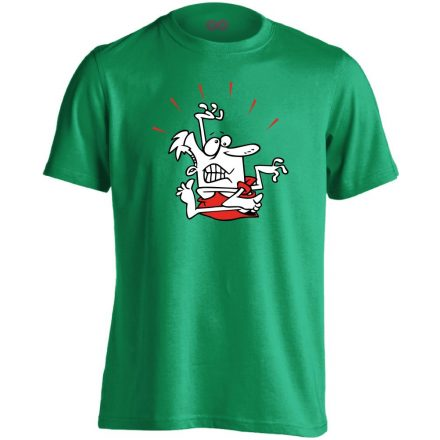 Gubanc gyógytornász férfi póló (zöld)