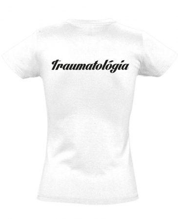 Traumatológia női póló (fehér)