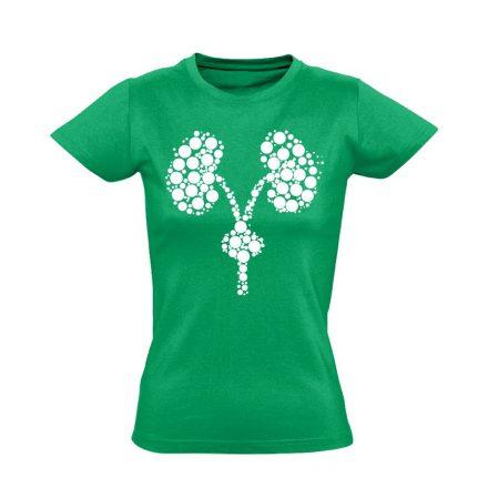 Kiválasztás urológiai női póló (zöld)
