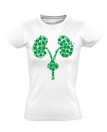 Kiválasztás urológiai női póló (fehér)