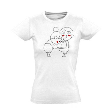 Kukucs! urológiai női póló (fehér)