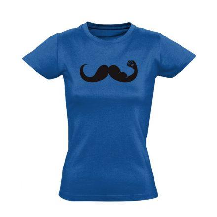 Fickós urológiai női póló (kék)